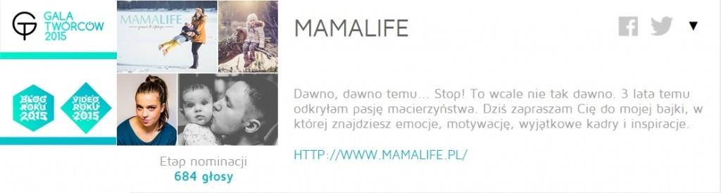 Mamalife Blog Roku 2015